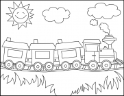 coloring pages for polar express - photo#21
