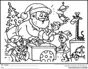 Chrismas coloring pages
