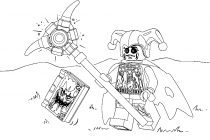 Lego Nexo Nights coloring pages