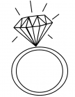 Precious stones coloring pages