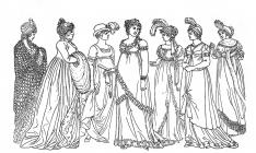 Victorian woman coloring pages