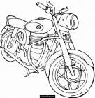 Harley davidson coloring pages to download and print for free