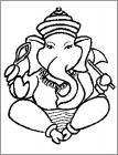 Ganesha coloring pages