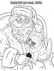 Grumpy coloring pages