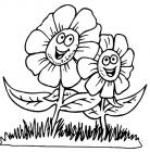 Springtime coloring pages