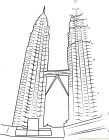 Malaysia coloring pages