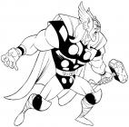 Thor coloring pages