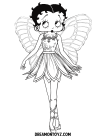 Betty boop coloring pages