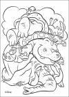 Jungle safari coloring pages