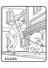 Dora and friends coloring pages
