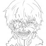 Tokyo Ghoul Coloring Pages
