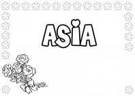 Girls Names coloring pages