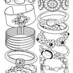 Bracelet Coloring Pages