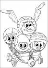 Calimero coloring pages