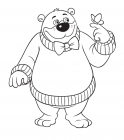 Everything's Rosie coloring pages