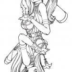 Harley Quinn Coloring Pages