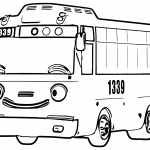 Tayo Coloring Pages