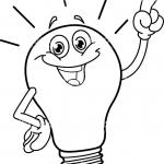 Electricity coloring pages