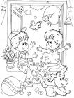 Friendship coloring pages