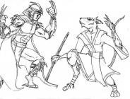 Shredder coloring pages
