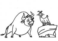 Ferdinand coloring pages