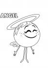 The Emoji Movie coloring page