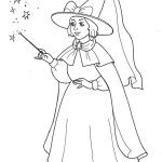 Sorceress Coloring Pages