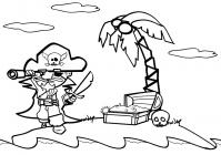 Hidden Treasures Coloring Pages