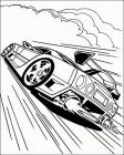Race coloring pages