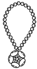 Jewelry coloring pages