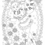 Antistress winter Coloring Pages