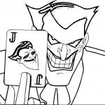 Joker coloring pages