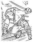Michelangelo coloring pages