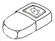 Eraser coloring pages