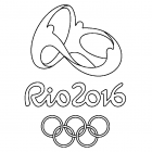 Rio 2016 Olympics Coloring Pages