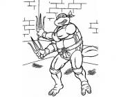 Rafael coloring pages