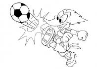 Woody Woodpecker coloring pages