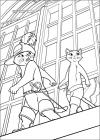 Puss in boots coloring pages