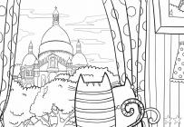 Europe coloring pages