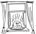 Window coloring pages