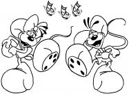The Deedles coloring pages