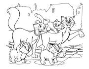 The AristoCats coloring pages