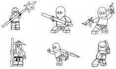 Lego Ninjago coloring pages