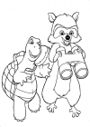 Over the Hedge coloring pages