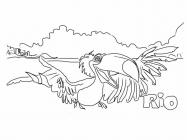 Rio 2 coloring pages