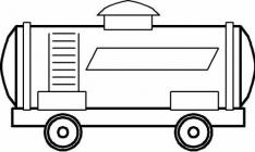 Wagon coloring pages