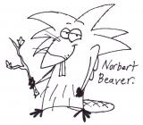 The Angry Beavers coloring pages