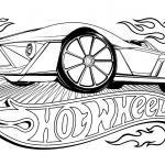 Hot Wheels coloring pages