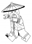 The lego Ninjago movie coloring pages