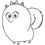 Spitz Coloring Pages